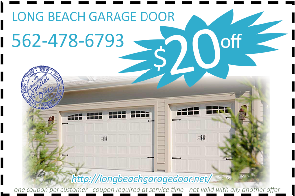 Long Beach Garage Door Coupon